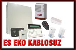 Daire-işyeri-villa kablosuz hırsız alarm sistemi